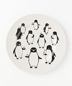 九谷焼 ペンギン 十態図 大皿
