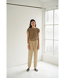 CLANE(Women)/クラネ GLOSS WASHER TAPERED PANTS