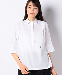 OLD ENGLAND(Women)/オールドイングランド ハケメコットンプルオーバーシャツ