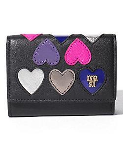 ランダムハート 三つ折りBOXミニ財布