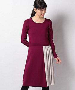 MISS J(Women)/ミスジェイ ハノン ニットプリーツドレス