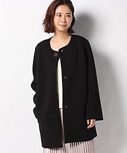 VICE VERSA(Women)/バイスバーサ 【洗える】ノーカラーロングジャケット