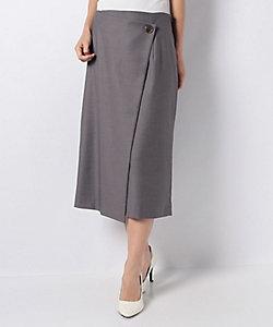 LA JOCONDE(Women)/ラ ジョコンダ ギャバストレッチラップ風スカート