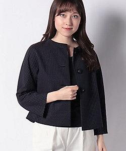 OLD ENGLAND(Women)/オールドイングランド 小紋ジャカードジャケット