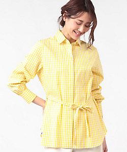 OLD ENGLAND(Women)/オールドイングランド ギンガムチェックシャツ