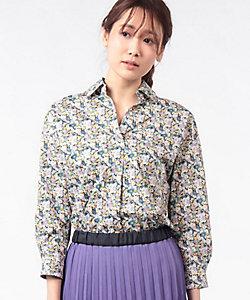 OLD ENGLAND(Women)/オールドイングランド リバティプリントシャツ