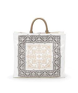TOPKAPI(Women)/トプカピ モロッコ柄 スクエア ハンドバッグ
