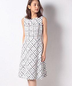 MISS J(Women)/ミスジェイ 【セットアップ対応】クラレンソンツイード ドレス