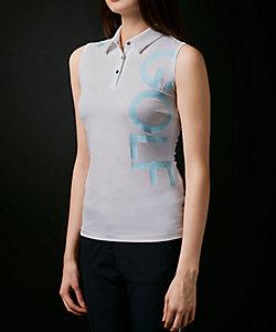 DECSENTE GOLF/デサントゴルフ フィールドセンサープラスロゴプリントスリーブレスシャツ【ECO】【UV】