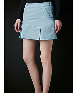 DECSENTE GOLF/デサントゴルフ パイピングプリーツスカート【クーリストD-Tec】【UV】