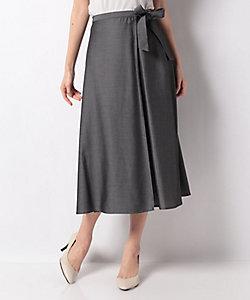 LAPINE BLANCHE(Women)/ラピーヌ ブランシュ 【洗える】【セットアップ対応】エコフィルシャンブレースカート