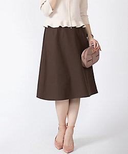 MISS J(Women)/ミスジェイ 【洗える】マシュマロストレッチ Aラインスカート