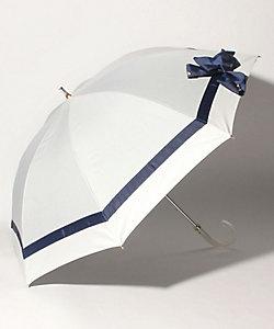 LANVIN en Bleu(Women)/ランバンオンブルー グログランリボン晴雨兼用パラソル 22-084-1114-06