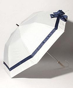 LANVIN en Bleu(Women)/ランバンオンブルー グログランリボン晴雨兼用折りたたみパラソル 22-084-1114-51