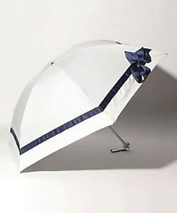 LANVIN en Bleu(Women)/ランバンオンブルー グログランリボン晴雨兼用折りたたみパラソル  22-084-1114-02