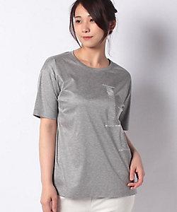 Leilian plus house(Women/大きいサイズ)/レリアン プラスハウス ロゴTシャツ