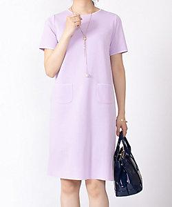LA JOCONDE(Women)/ラ ジョコンダ 【セットアップ対応】コンパクトコットンニットドレス