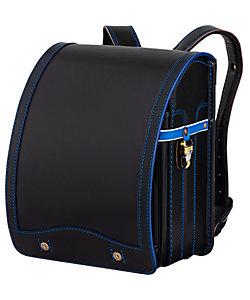 鞄工房山本/カバンコウボウヤマモト レイブラック 黒×ブルー