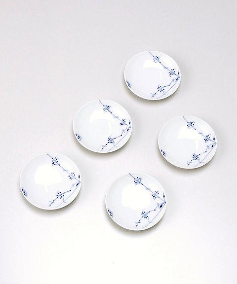 三越・伊勢丹オンラインストア<ロイヤル コペンハーゲン/Royal Copenhagen> ブルーパルメッテ 小皿5枚セット 【三越・伊勢丹/公式】