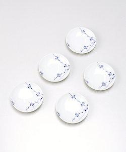 ROYAL COPENHAGEN/ロイヤルコペンハーゲン ブルーパルメッテ 小皿5枚セット