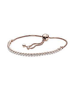 PANDORA/パンドラ Sparkling Slider Tennis Bracelet
