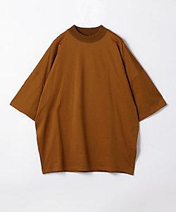コットン ビルドネックTシャツ