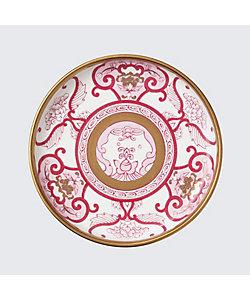 ARITA PORCELAIN LAB/アリタポーセリンラボ 銘々皿 JA古伊万里草花紋 ワインレッド