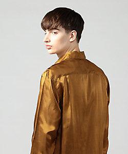 ヴィンテージプリント ワンピースカラーシャツ PONTGLIO