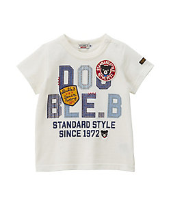 MIKI HOUSE DOUBLE_B(Baby&Kids)/ミキハウス ダブルビー ロゴプリント半袖Tシャツ(62-5206-269)