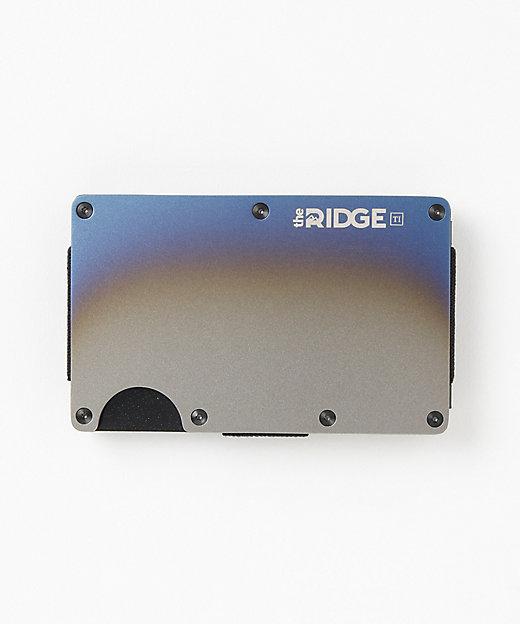 <the RIDGE(Men)/ザ リッジ> チタンカードケース(マネークリップ付)(TRT10) Burnt【三越伊勢丹/公式】