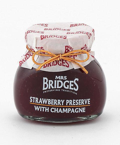 <ミセスブリッジス/MRS. BRIDGES> シャンパン入りストロベリープリザーブ【三越・伊勢丹/公式】