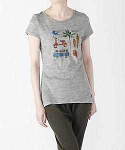 [sn] super.natural(Men)/エスエヌ スーパー・ナチュラル Tシャツ W Digital Print Tee  SPRING(SNW013033)