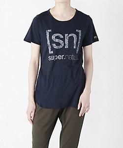 [sn] super.natural(Men)/エスエヌ スーパー・ナチュラル Tシャツ(SNW011153)