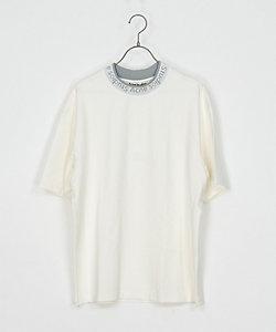 ロゴリブネックTシャツ FN‐MN‐TSHI000119