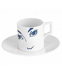 MEISSEN/マイセン エスプレッソカップ&ソーサー「These Eyes」