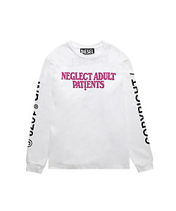 DIESEL(Men)/ディーゼル ロングスリーブカットソー NEGLECT ADULT PATiENTS P007440PATI