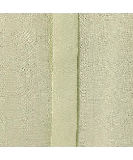 コットンウール平織りブラウス