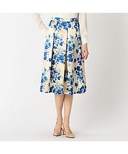 yoshie inaba(Women)/ヨシエ イナバ フラワーサテンプリントスカート
