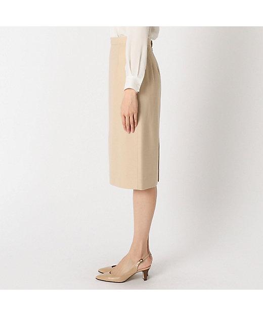 ウールピケタイトスカート