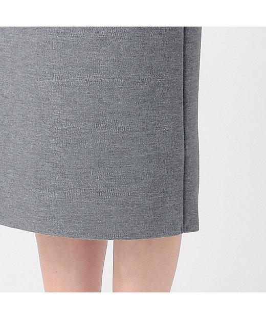 ウール梳毛タイトスカート