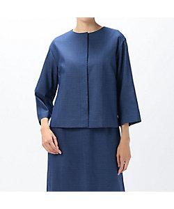 yoshie inaba(Women)/ヨシエ イナバ しじら織りジャケット