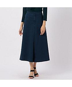 yoshie inaba(Women)/ヨシエ イナバ デニムジャージーロングスカート
