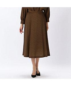 yoshie inaba(Women)/ヨシエ イナバ ミニレオパードプリントスカート