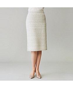 yoshie inaba(Women)/ヨシエ イナバ 多素材ジャガードスカート