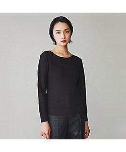 yoshie inaba(Women)/ヨシエ イナバ ウールシルク強撚プルオーバー