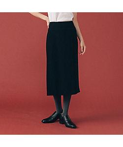 L'EQUIPE(Women)/レキップ B・Satinストレートスカート
