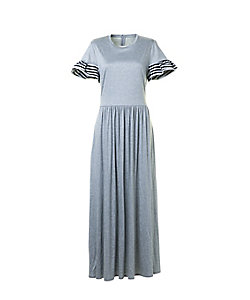 BORDERS at BALCONY(Women)/ボーダーズアットバルコニー RUFFLED MAXI DRESS
