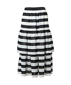 BORDERS at BALCONY(Women)/ボーダーズアットバルコニー BORDER SKIRT