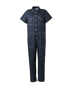 BORDERS at BALCONY(Women)/ボーダーズアットバルコニー DENIM JUMP-SUIT