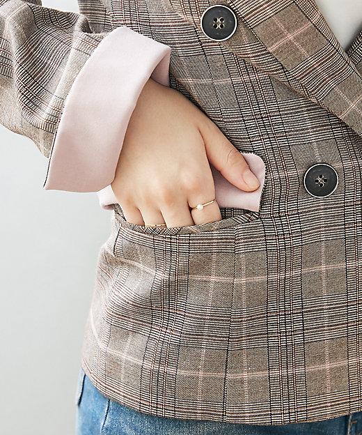 チェックジャケット スモールサイズ
